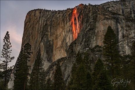 Gary Hart Photography: Horsetail Fall, El Capitan Picnic Area, Yosemite