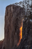 Gary Hart Photography: Horsetail Fall and El Capitan, Four Mile Trail, Yosemite