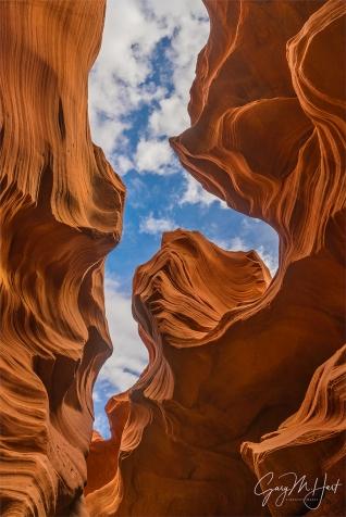 Gary Hart Photography: Skylight, Lower Antelope Canyon, Arizona