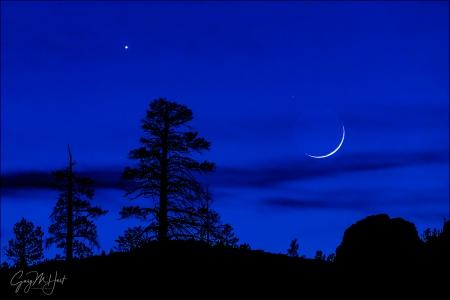 Gary Hart Photography: Mountain Nightfall, Olmsted Point, Yosemite