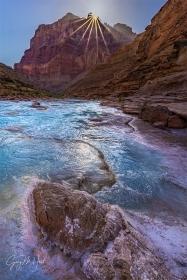 Gary Hart Photography: Sunstar, Little Colorado River, Grand Canyon