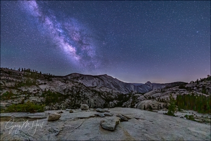 Gary Hart Photography: Summer Night, Milky Way Over Yosemite, Olmsted Point