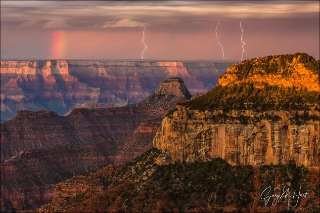 Gary Hart Photography: Three Strikes, Bright Angel Point, Grand Canyon