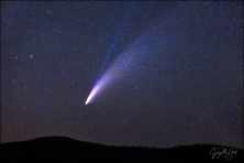 Gary Hart Photography: Comet NEOWISE With Ion Tail, Taft Point, Yosemite