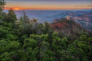 Gary Hart Photography: Sunrise Sunstar, Point Imperial, Grand Canyon