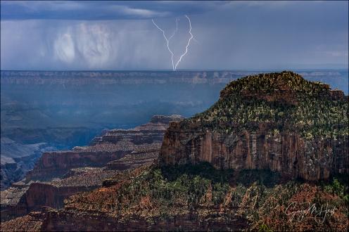 Gary Hart Photography: Lightning V, Grand Canyon