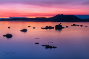 Gary Hart Photography: Red Dawn, Mono Lake